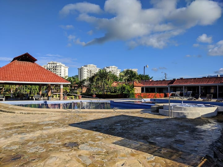 POOL OPEN! Beautiful condo in the heart of JACO
