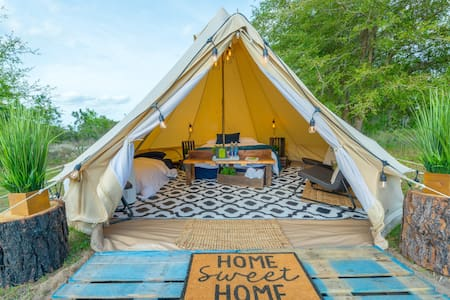 Luxury Glamping: CareFree Camping @ Lake Louisa