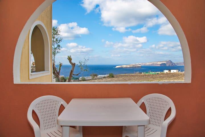 Apartment 1 with caldera view - Akrotiri - Huis