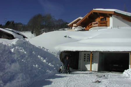 Extraordinary Austrian Ski Chalet - Hinterthal