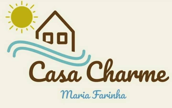 Casa Charme Maria Farinha Hospedagem com café