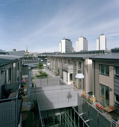 As central as it gets, on a rooftop - Stockholm - Lägenhet