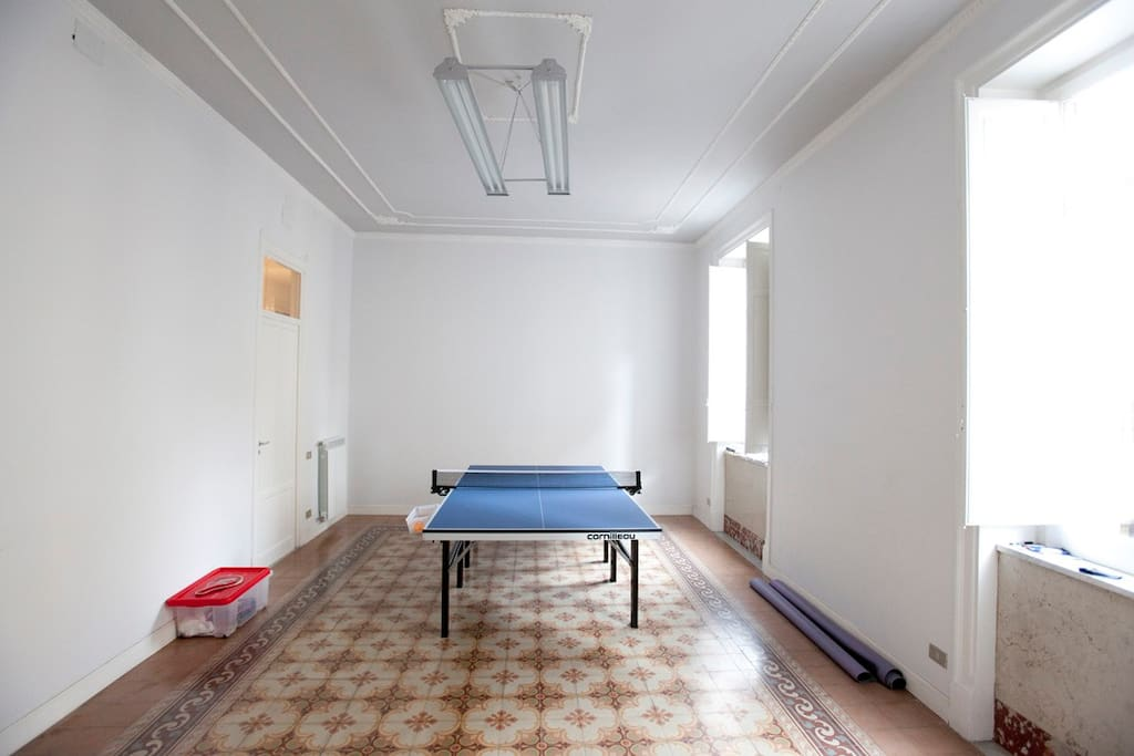 tennis table room