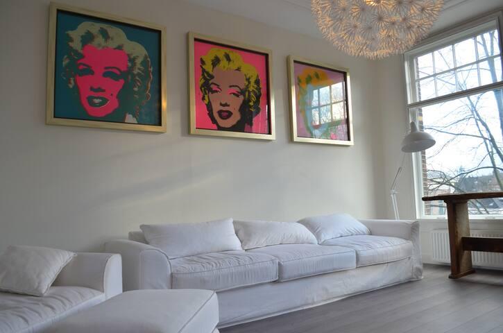 Spacious apartment! Great location! - Амстердам - Квартира