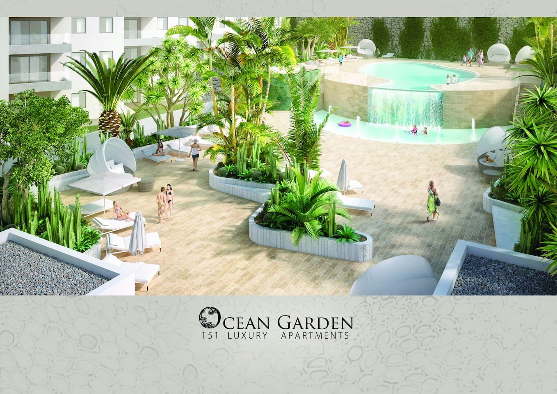 ocean garden luxury apartment 2 playa paraiso apartments for rent in adeje canarias spain - Ocean Garden