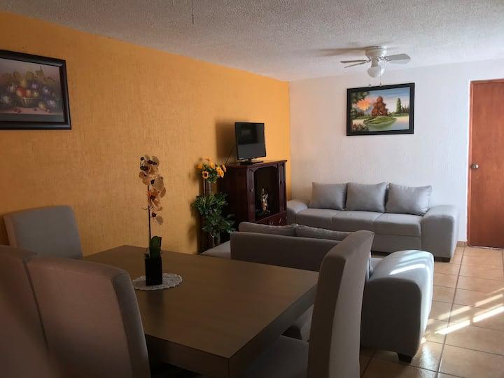 Hermosa y confortable casa completa en Morelia
