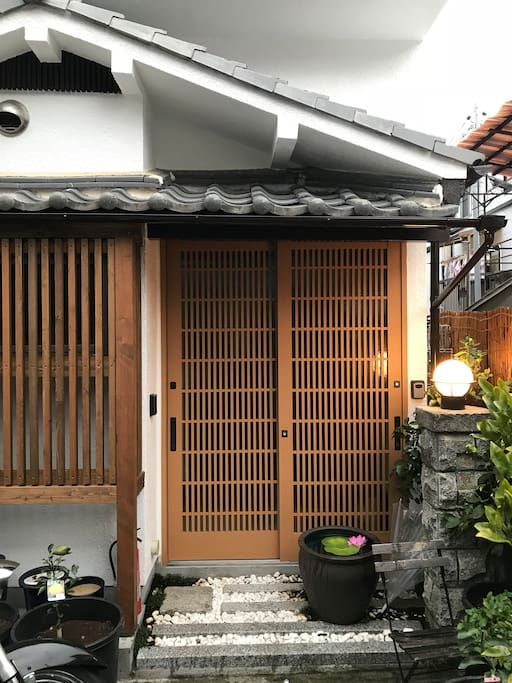 Our traditional style Japanese house has been totally reformed for the comforts of modern life.