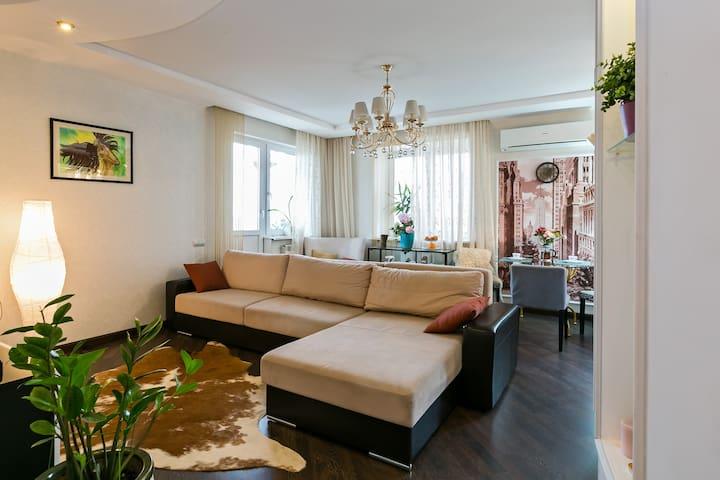 Современная просторная квартира - Люберцы - Appartement