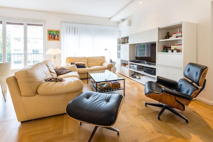Appartement design calme central apartments for rent in for Appartement design lyon