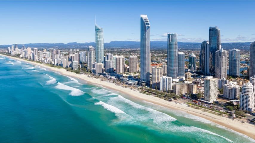Brilliant Beach Beauty - Broadbeach - Huoneisto