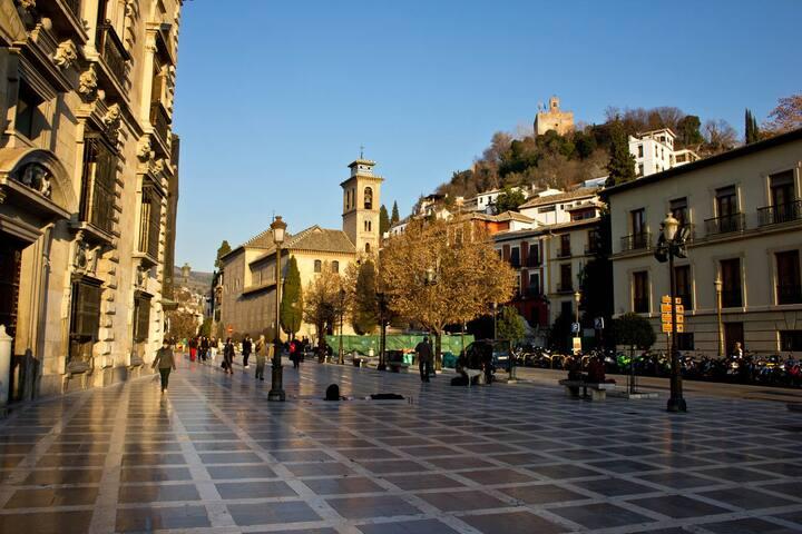 BEAUTIFUL STUDIO IN ALBAICÍN, GRANADA, ALHAMBRA - Granada - Loft-asunto