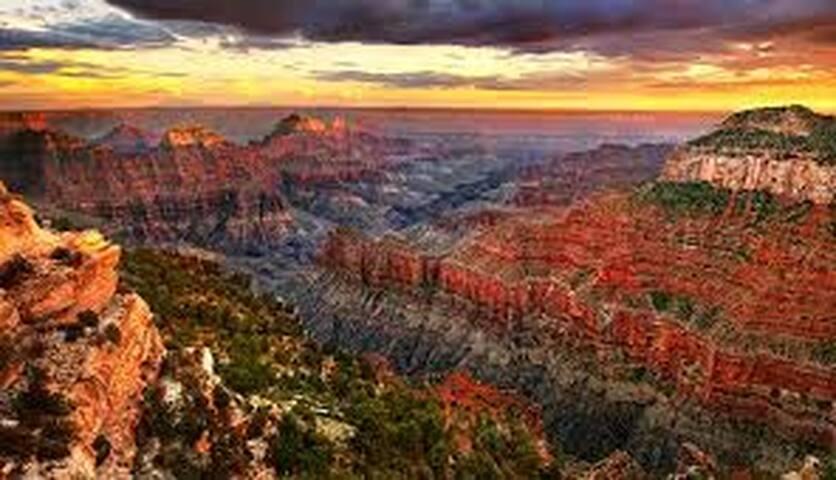 North Rim Grand Canyon -  79 miles