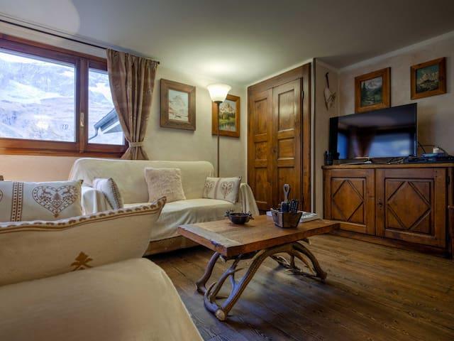 Bellissimo appartamento con vista sul Cervino