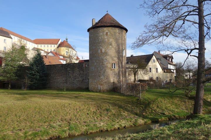 Wohnen in einem alten Wehrturm