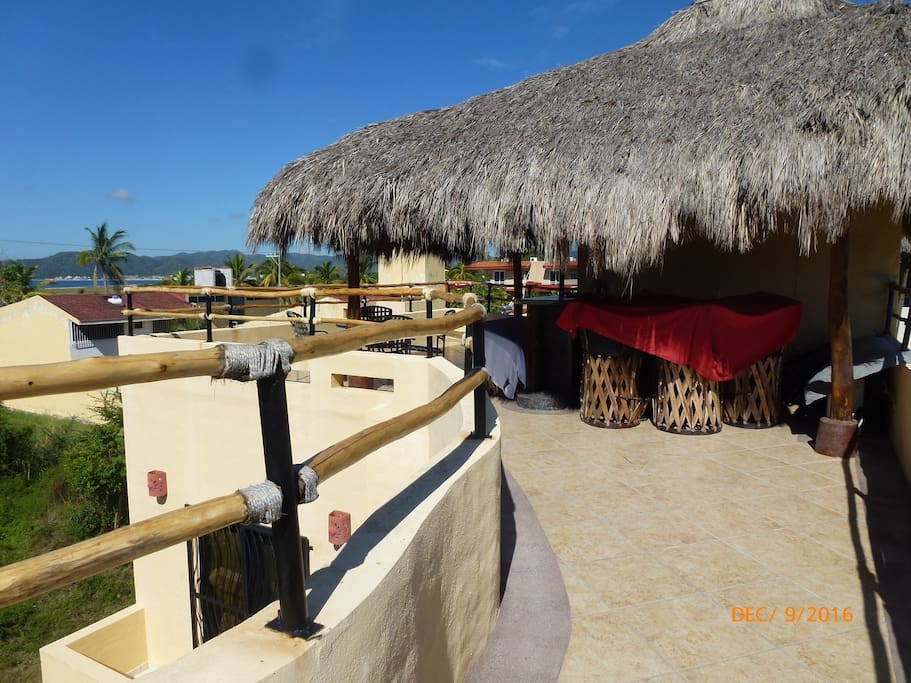 Palapa / Roofdeck