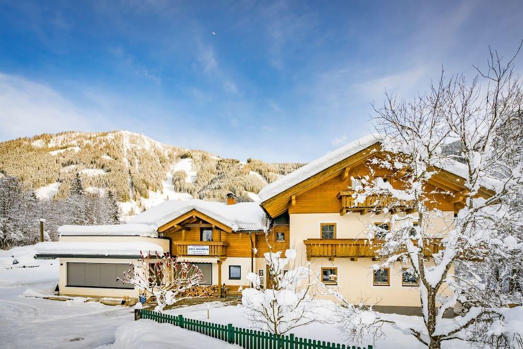 Haus Waldheim Winter 1