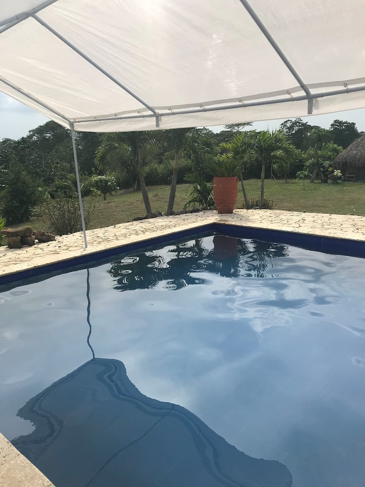 Espacio privado, tranquilo, ambiente natural