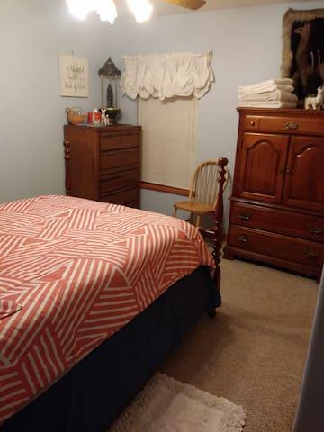 Full bed.
