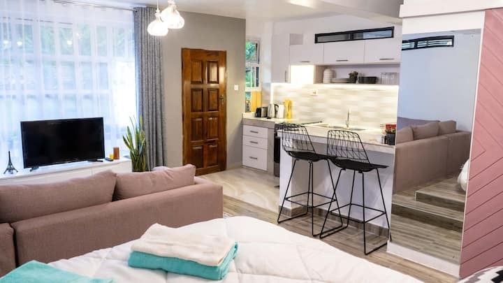 Modern Studio Apartment with safe serene compound