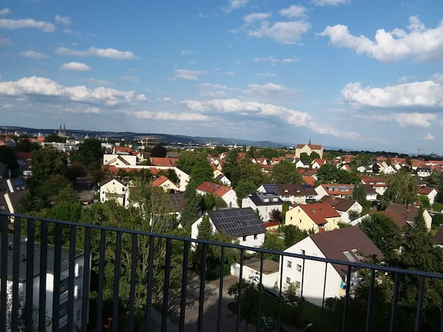 Appartment mit dem schönsen Blick über Regensburg