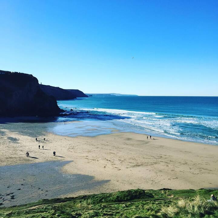 Ocean Heights, Porthtowan - 5 min walk from beach