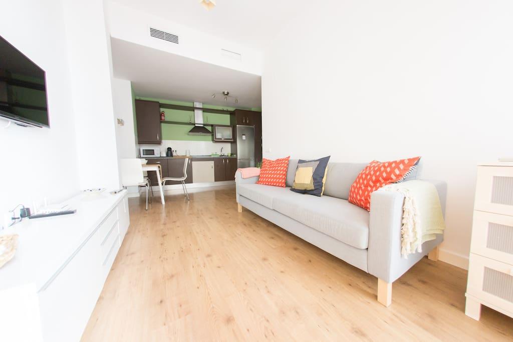 New 2br apartment 100m from alameda de h rcules for Alquiler jardines de hercules