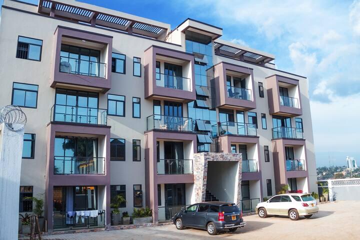 ★Deluxe City Apartment★Namirembe Rd Kampala★★★WiFi