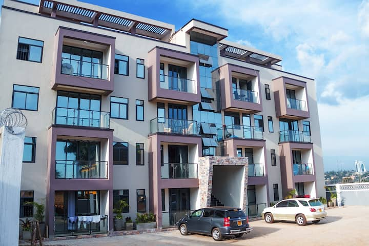 ★Deluxe City Apartment★Namirembe Rd Kampala★★★WiFi