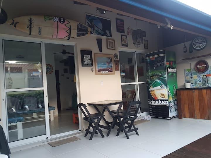 Casa de veraneio Boracéia litoral norte São Paulo