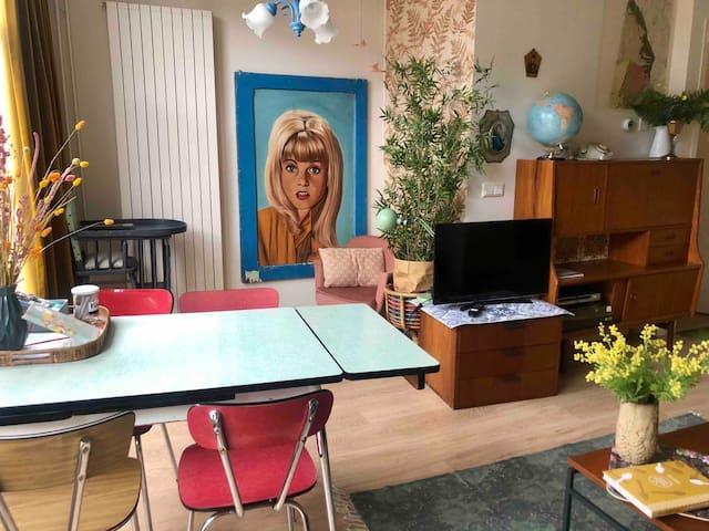 SOEPP the vintage blue room 🦋 Breakfast included