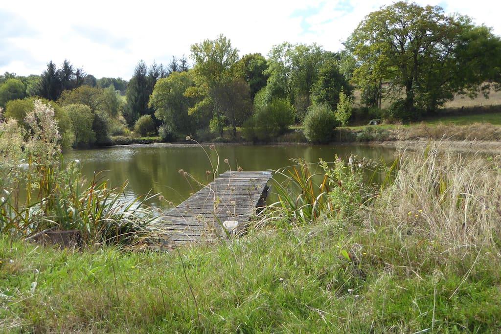 L'étang pour s adonner au plaisir de la pêche