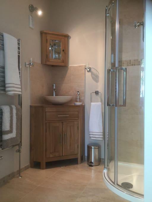 Ground Floor en-suite shower room