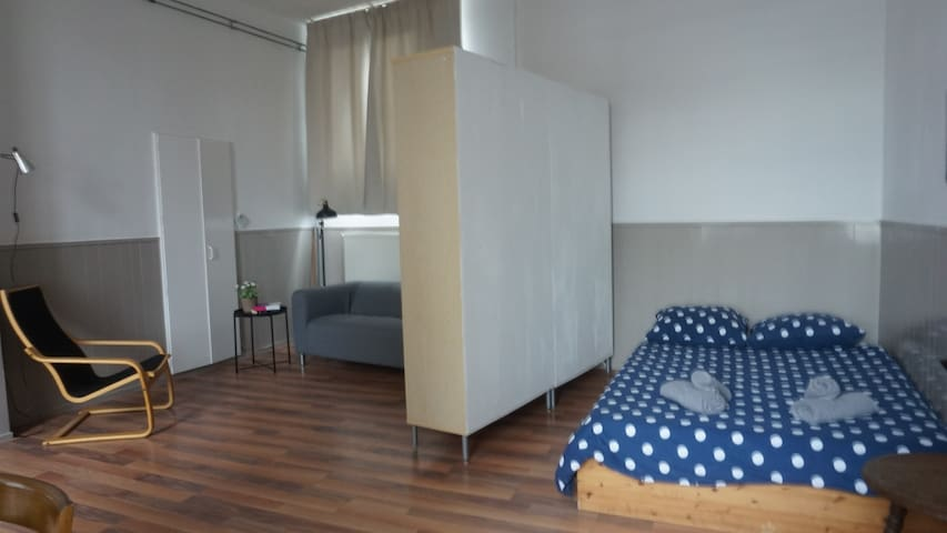 Studio close to downtown Groningen