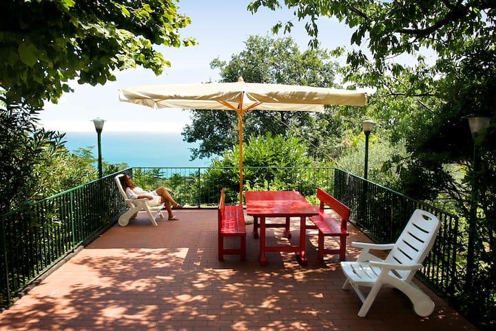RELAX SU VERDE COLLINA VISTA MARE - Pesaro - House