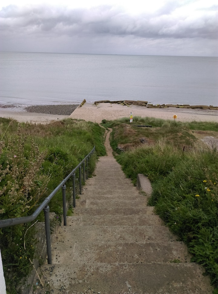 Beach for a garden on Rosslare Strand
