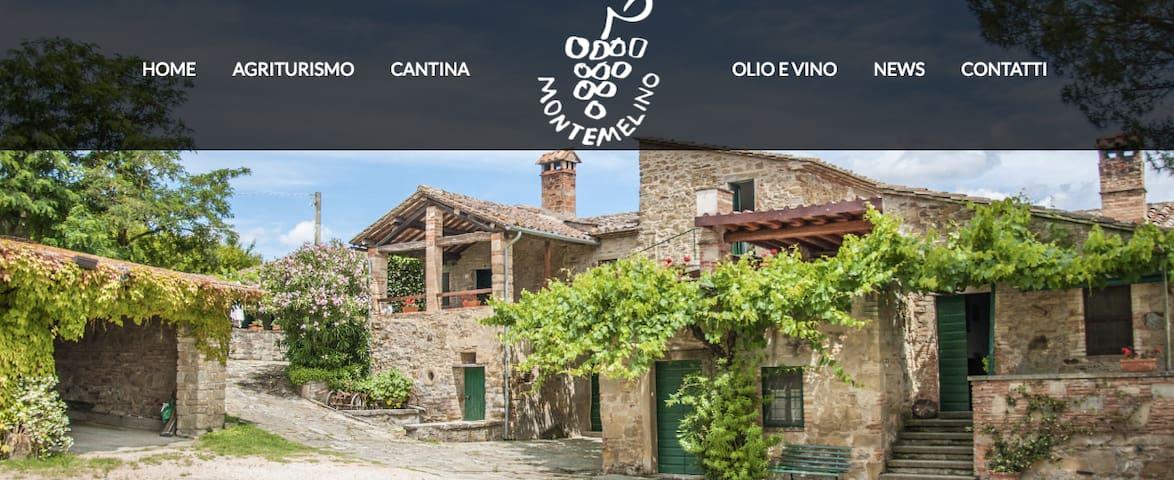 Agriturismo Montemelino Casa 1 - La Fonte - Apartment