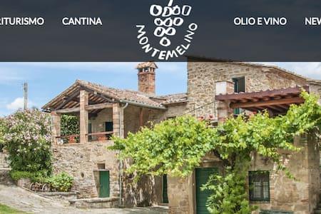 Agriturismo Montemelino Casa 1 - La Fonte - Lägenhet