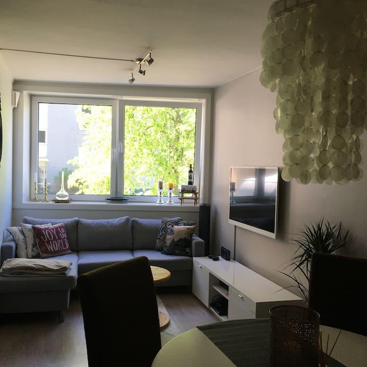 Koselig leilighet med 2min gange til sentrum