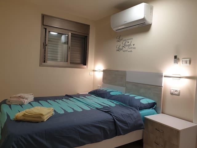 The bedroom - Angle 1