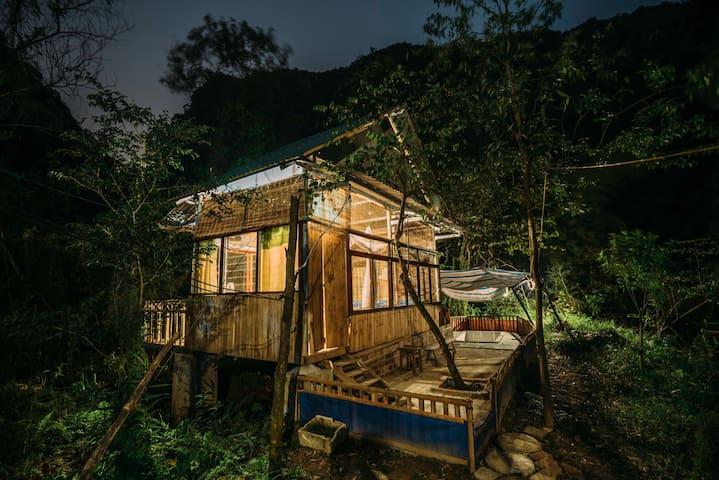 Chezbeo Homestay #11 - Jungle's Room - Ninh Bình - Bungalow
