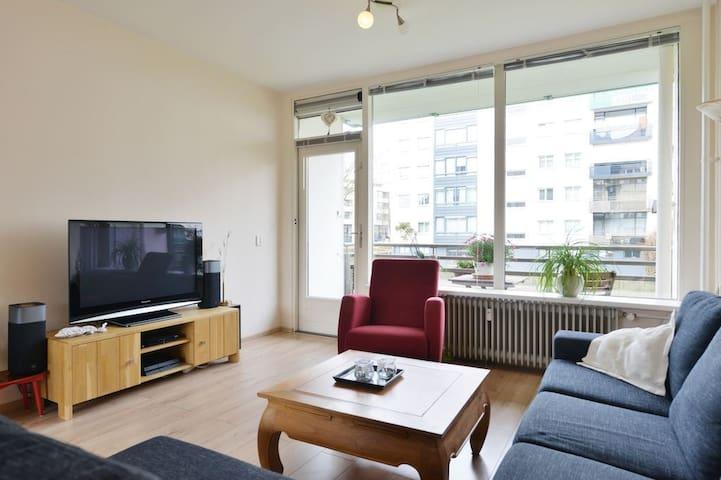 Ruim 2-kamer appartement vlakbij het centrum Breda - Breda - Apartament