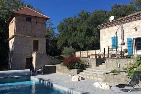 maison de vacances piscine et spa