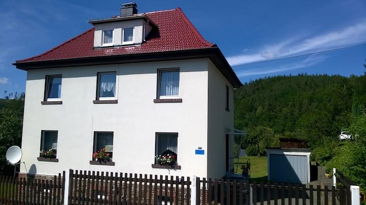 """Ferienwohnung """"Schlossblick"""" Ziegenrück"""