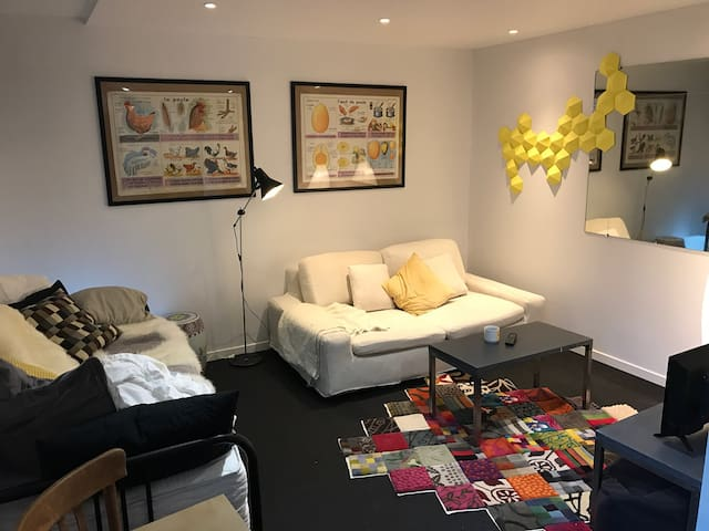 Charmant studio, centre-ville, 10 mn à pied INSEAD - Fontainebleau - Appartement