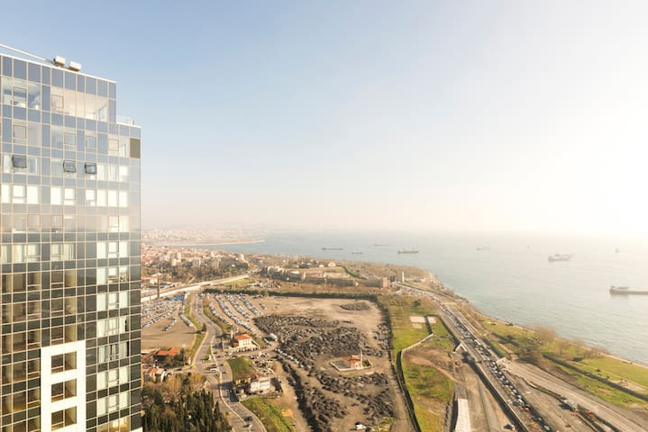 Million Dollar Loft with Sea View 2 - Zeytinburnu - Flat