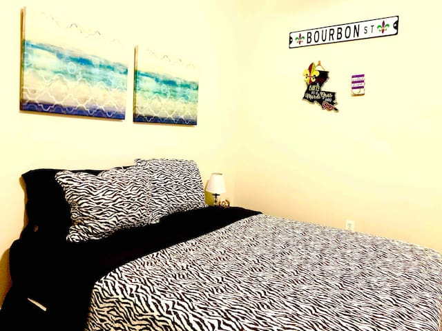 Bedroom 2 with a comfy queen size bed