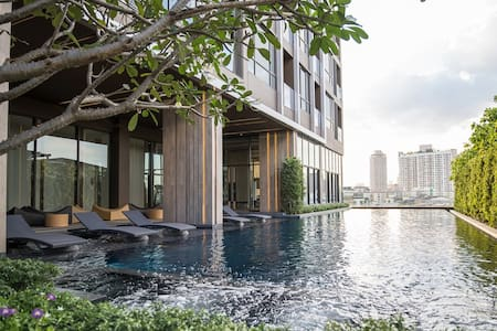 Luxury 1BR @The LINE Phra Kanong Sukhumvit 71 - Μπανγκόκ - Διαμέρισμα