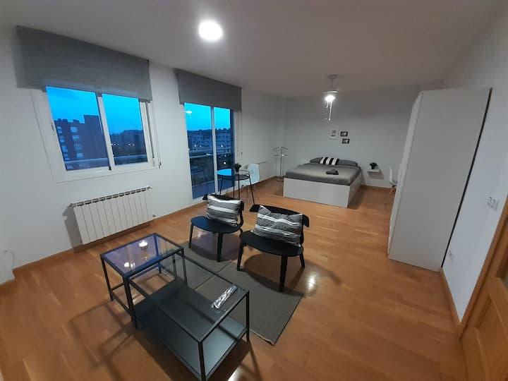Espaciosa suite en Madrid