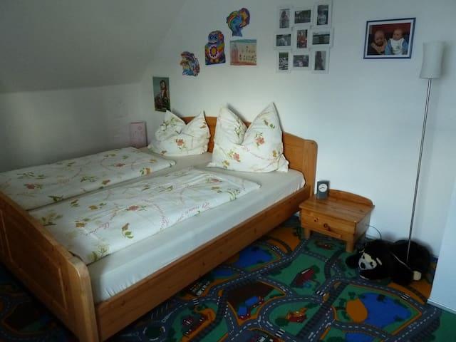 Ruhiges Zimmer - Nähe Elberadweg - Kemberg - Apartament