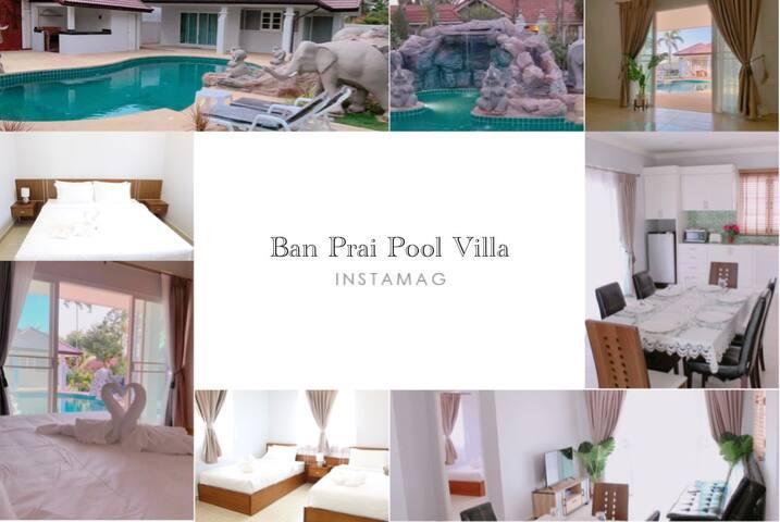 บ้าพรายพูลวิลล่า บางเสร่  Ban Prai Pool Villa